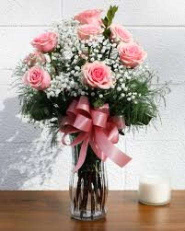 Deluxe Rose Bouquet - Pink