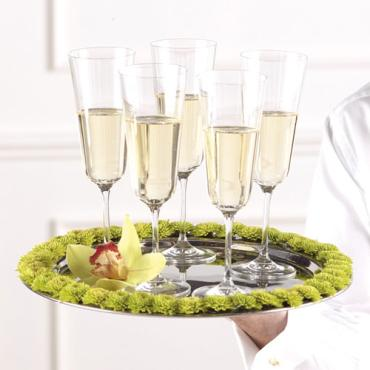 Champagne Tray Decoration