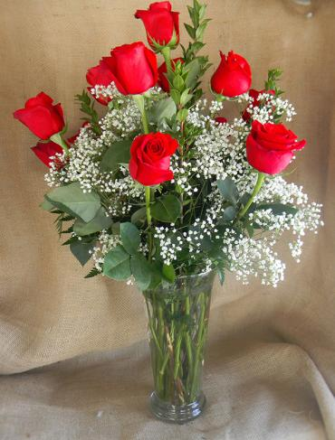 Deluxe Rose Bouquet - Red