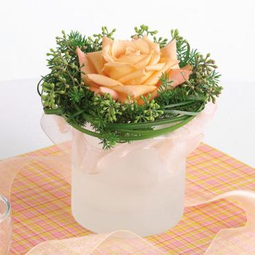 Single Rose Centerpiece