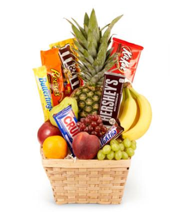 Fruit & Candy Basket